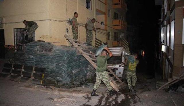 Ejército empieza a desmontar trinchera en Ituango, Antioquia