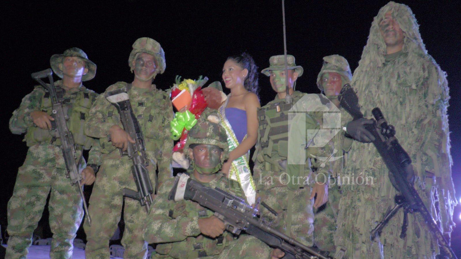 Nueva Belén nueva reina del ejército