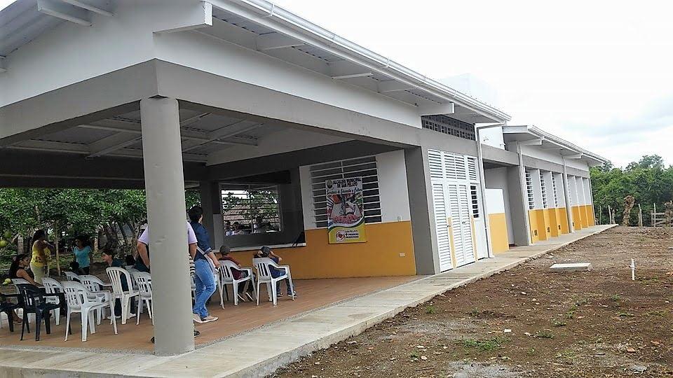 Ochenta estudiantes se beneficiarán con la nueva infraestructura educativa