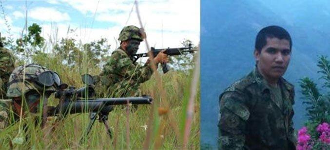 Asesinan a soldado cordobés en ataque guerrillero