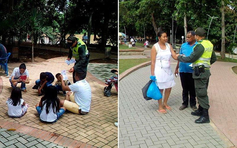 Policía de Turismo adelanta campañas para los visitantes en estas vacaciones