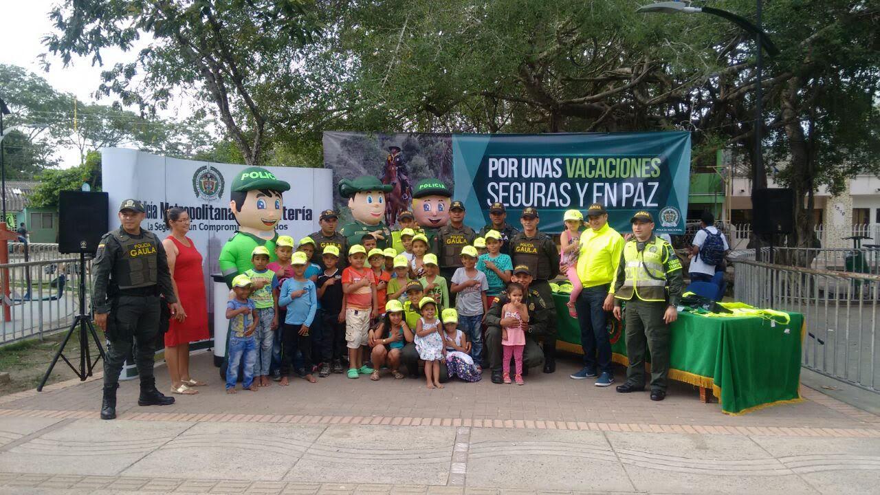 Policía Metropolitana realizó lanzamiento de Vacaciones Seguras