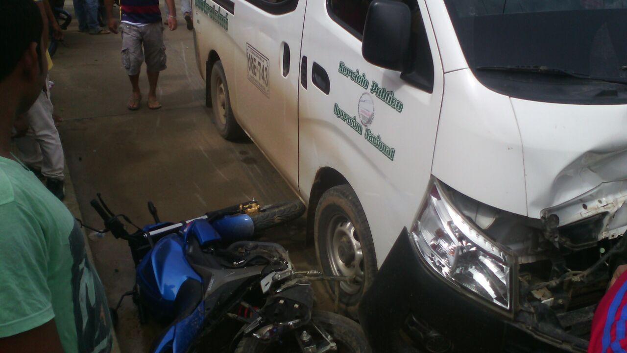 Muere niño en accidente de Tierralta