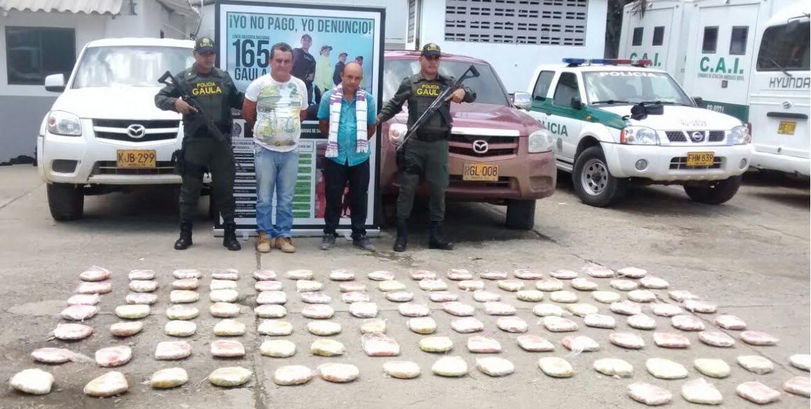 Incautan 600 millones de pesos de coca del Clan del Golfo