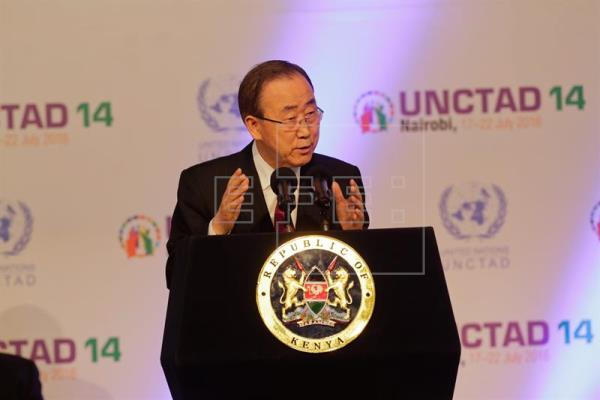 """Ban Ki-moon pide una """"rápida"""" actuación para acabar con el sida en 2030"""