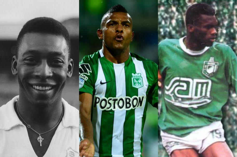 Borja logró algo que solo Pelé y Usuriaga habían hecho