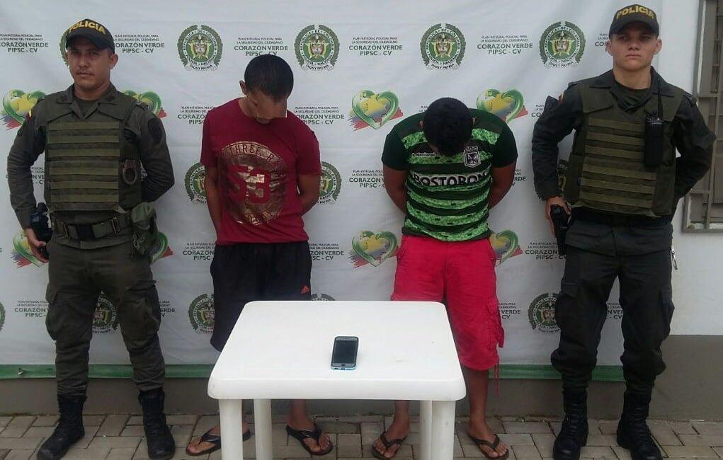 Tres hombres capturados en Montelíbano