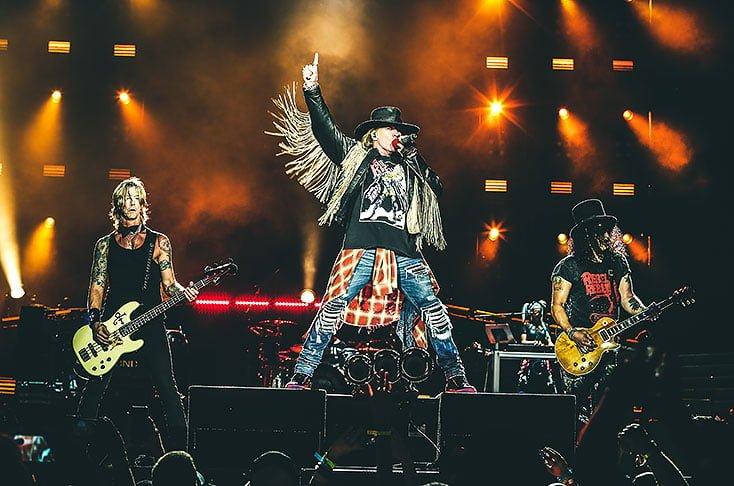 ¿Cuánto cuesta ver a Guns N' Roses en Medellín?