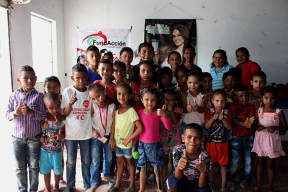 FundAcción realizó Jornada de belleza para los niños del barrio El Poblado