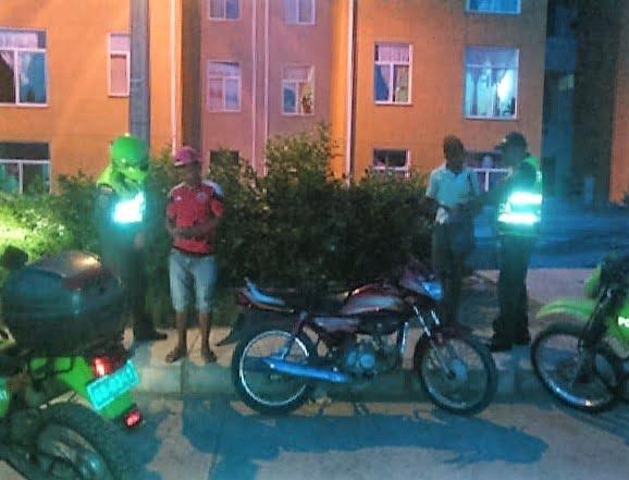 Policía salvó a mujer de golpiza en Las Acacias