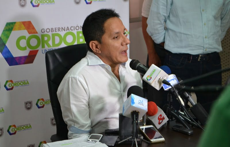 """Caso cartel de la sangre """"Aquí en la administración departamental somos transparentes"""": Roberto Tirado, gobernador (e)."""