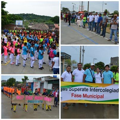 Inician Juegos Intercolegiados fase municipal