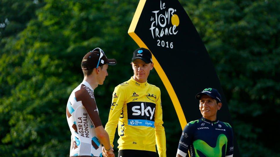 ¿Cuánto dinero recibe Nairo por ser tercero en el Tour de Francia?