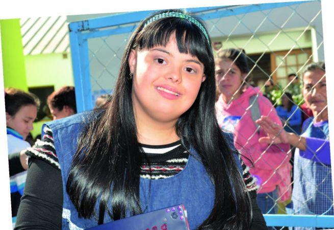 La primera docente con síndrome de Down de Argentina da clases en Córdoba