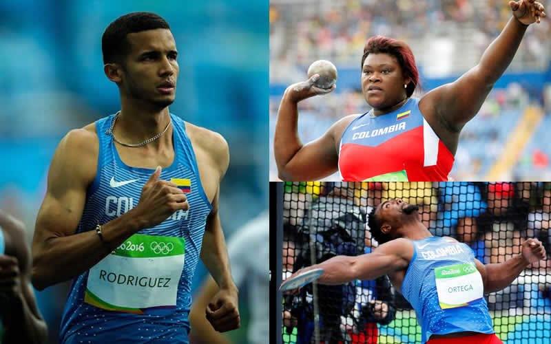 Atletismo colombiano debutó en río 2016