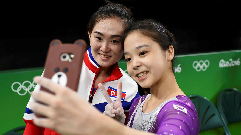 Río 2016: la selfie que unió a Corea del Norte y Corea del Sur