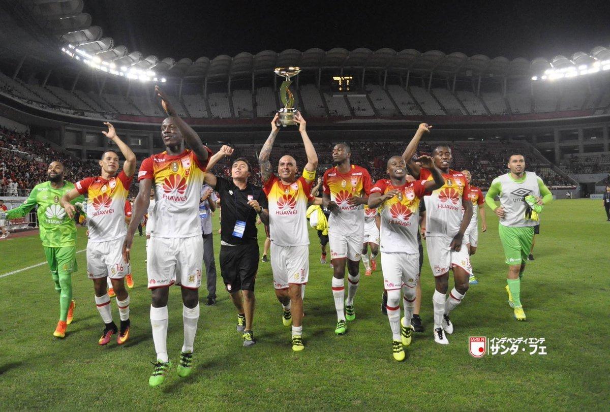Santa Fe campeón de la Copa Suruga Bank