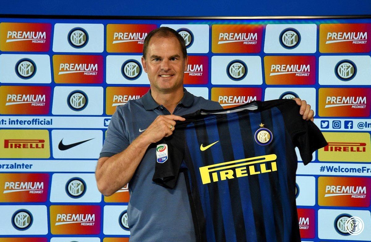 Frank de Boer, nuevo técnico de Inter de Milán