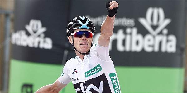 Froome gana la etapa 11 de la Vuelta, pero Nairo sigue líder