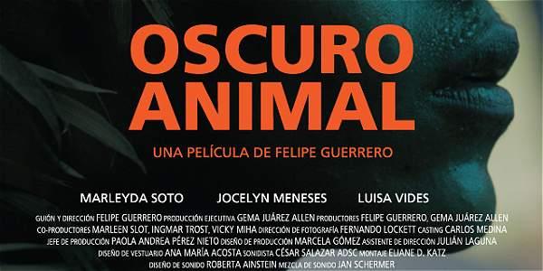 La cinta colombiana 'Oscuro Animal' gana el festival de Cine de Lima