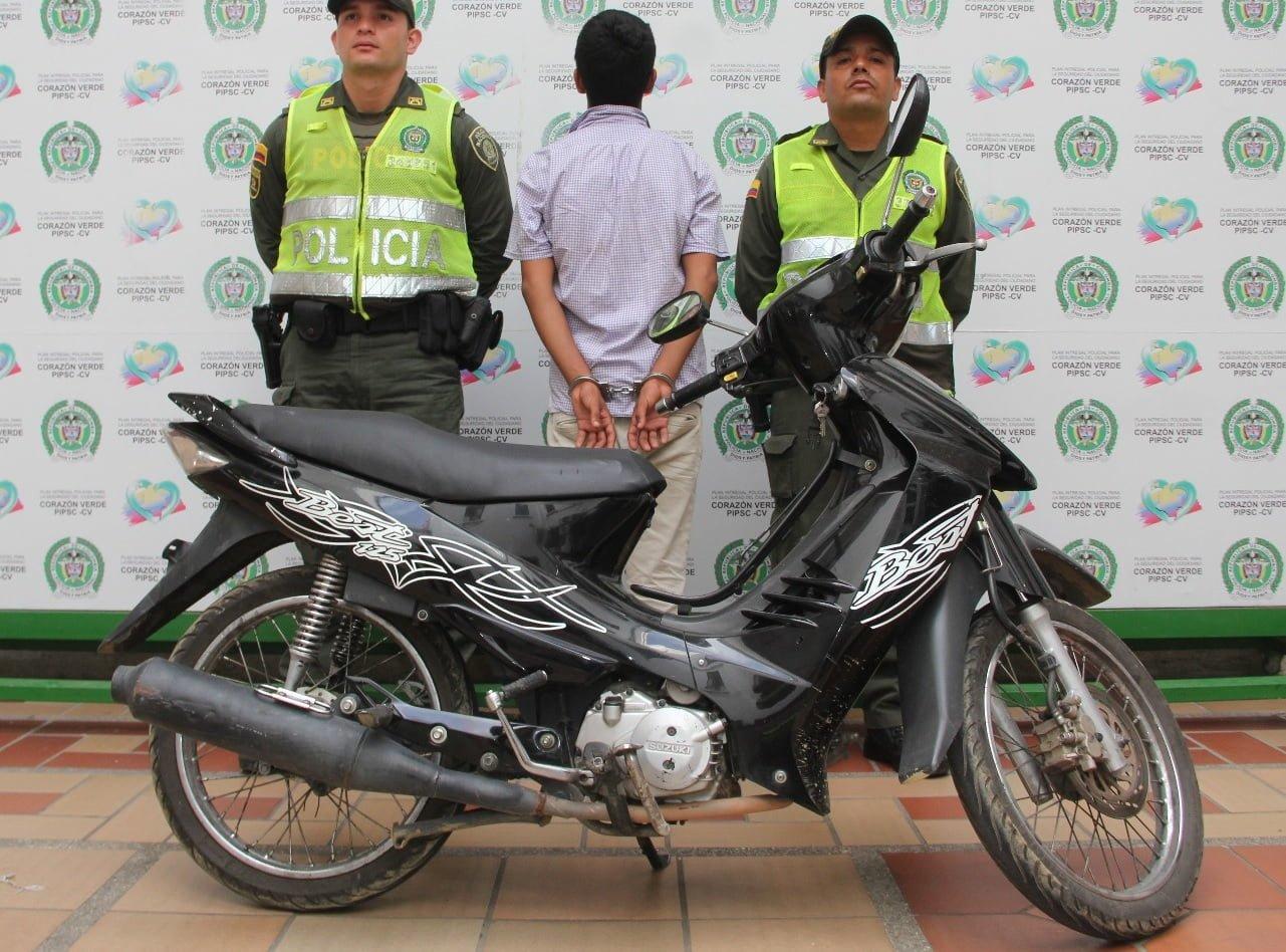Policía contra el hurto de motos en Córdoba