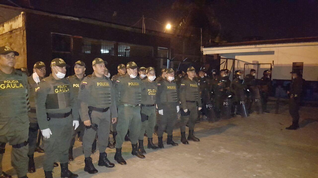 Ofensiva contra la extorsión, Policía interviene otra vez la cárcel Las Mercedes de Montería
