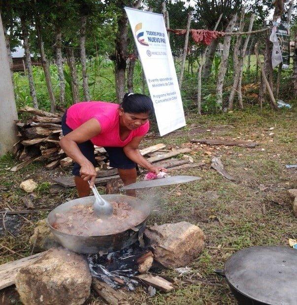Conservaciones y preservación de la cocina tradicional Zenú