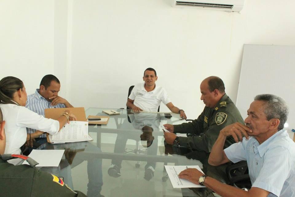 En Cotorra, comité de orden público