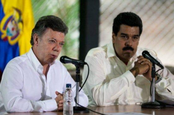 Santos y Maduro evaluarán situación en la frontera