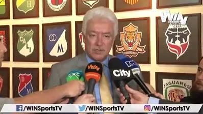 Jorge Perdomo: no aceptaremos que los desadaptados se apoderen del fútbol