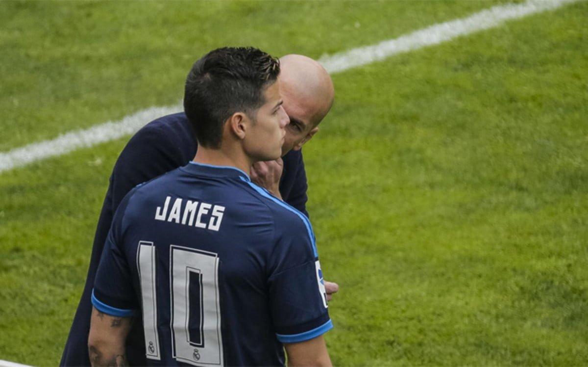 James con vía libre para salir del Real Madrid