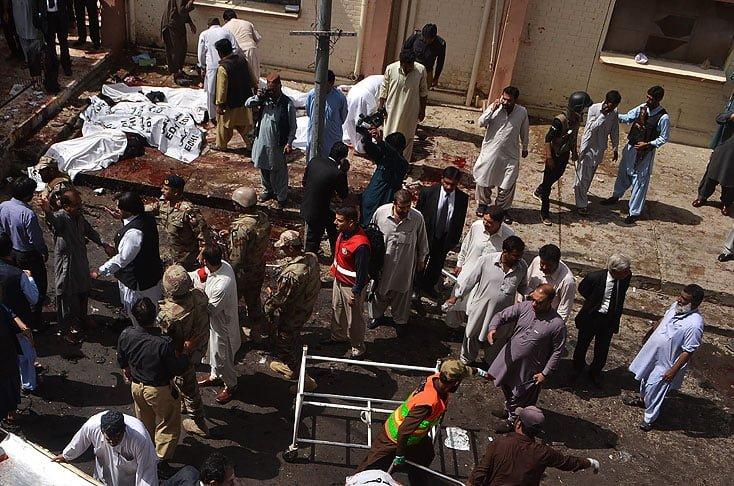 Al menos 45 muertos en atentado con bomba en hospital de Pakistán