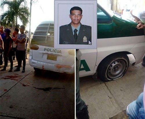 Policía asesinado en Sincelejo era de Lorica