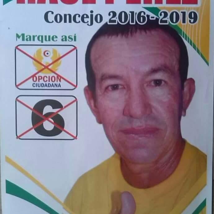 Asesinado presidente de Junta de Acción Comunal