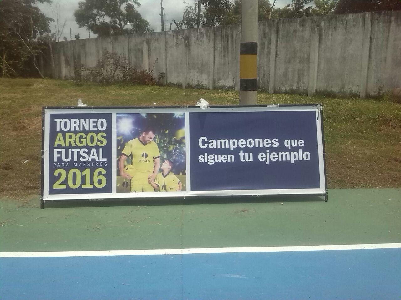 Torneo Argos futsal