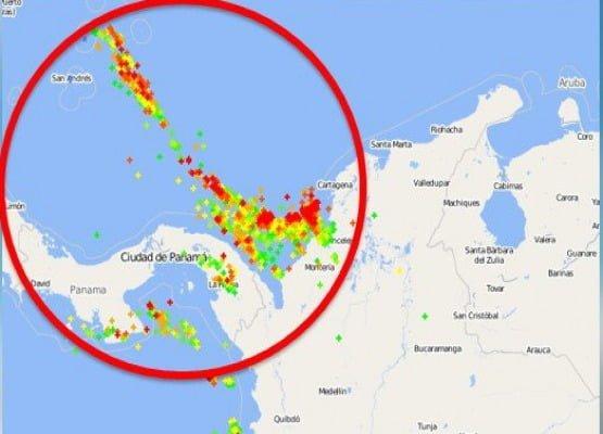 Por tormenta tropical Earl habrán precipitaciones eléctricas en Córdoba y Sucre
