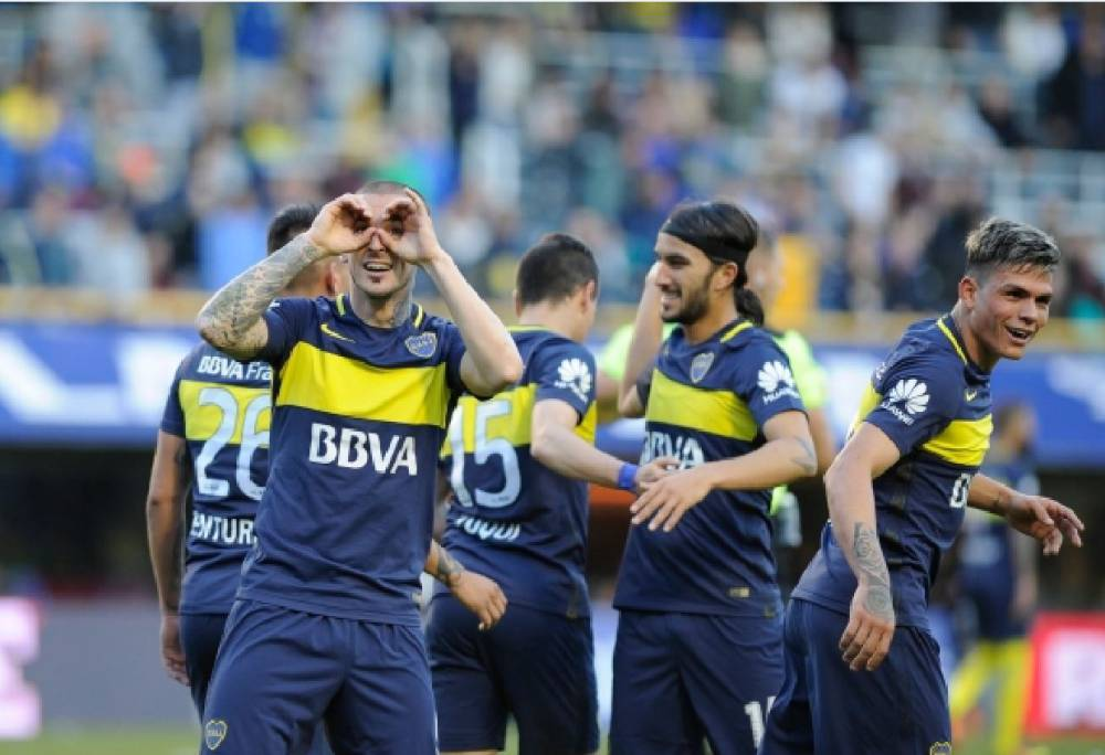 Sebastián Pérez tuvo un buen debut en goleada de Boca