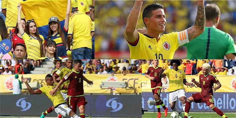 Colombia le ganó a Venezuela
