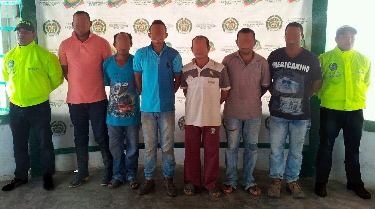 """Operación """"Mercurio fase IX"""", contra la minería ilegal dejan 6 capturados en flagrancia"""