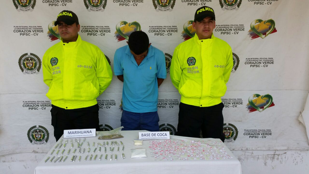 9 detenidos por tráfico de alucinógenos