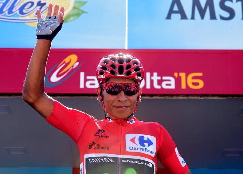 Nairo Quintana sigue al mando de Vuelta a España, tres colombianos en Top 20 tras etapa 12