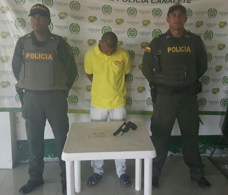Siguen las capturas por porte ilegal de armas