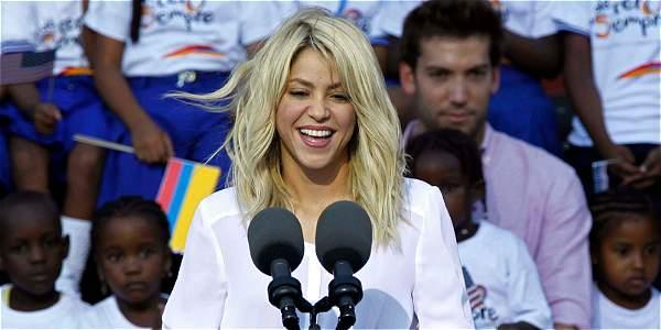 Shakira se une a campaña sobre la educación