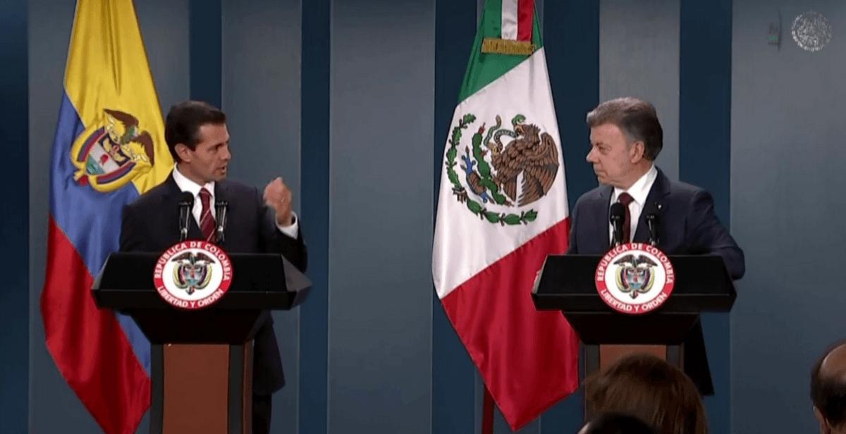 México y Colombia firman acuerdos de entendimiento