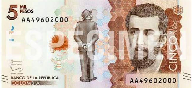 9 de noviembre sale al mercado nuevo billete de $5.000