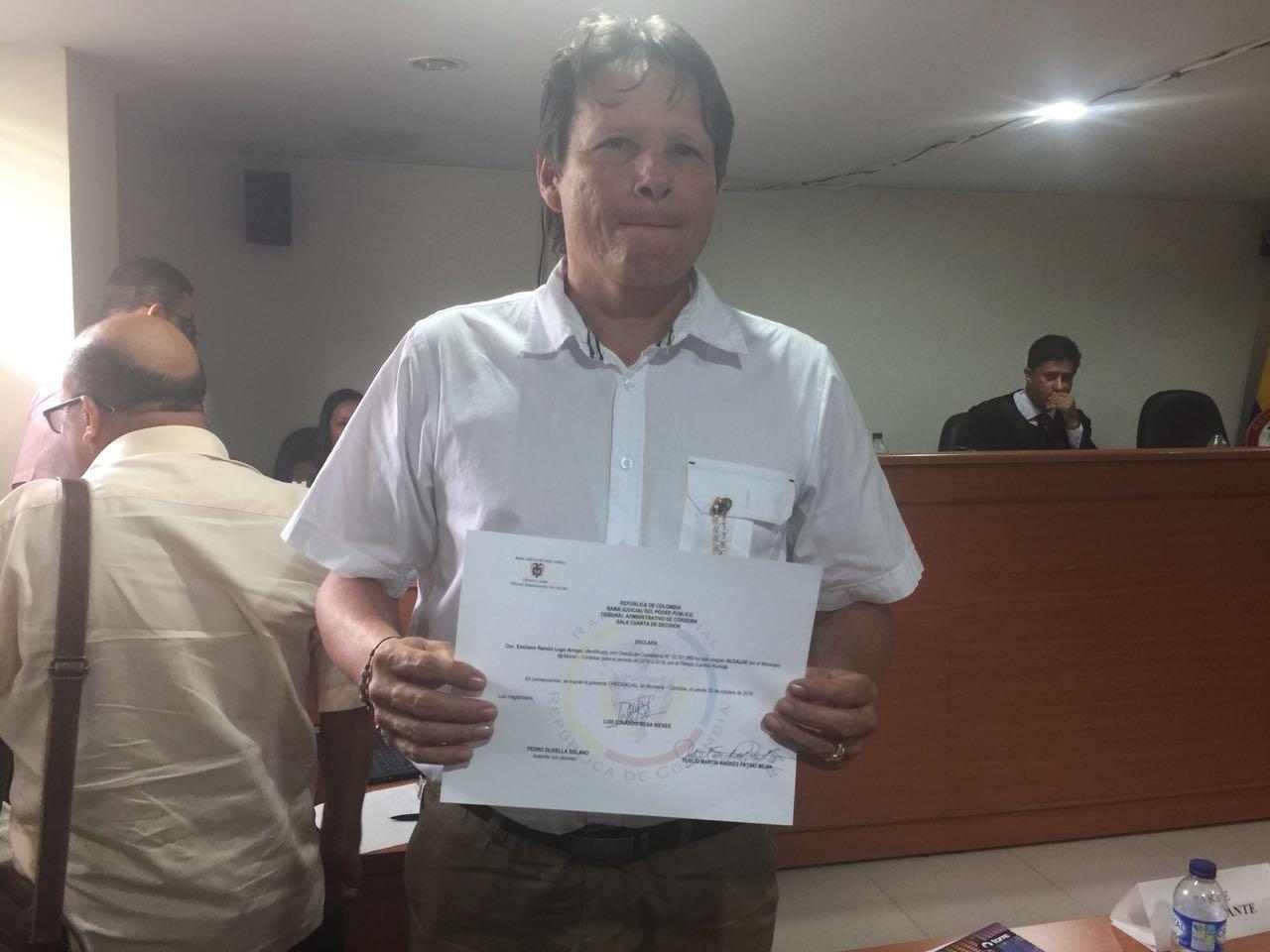 Emiliano Lugo Alcalde de Momil