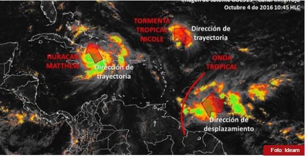 Alerta en el Caribe por nueva onda tropical