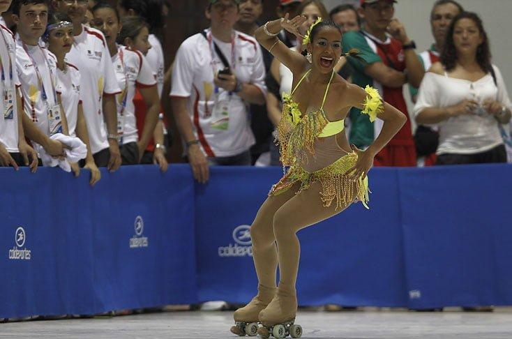 Viviana Osorio ganó medalla de plata en el campeonato mundial de Patinaje Artístico