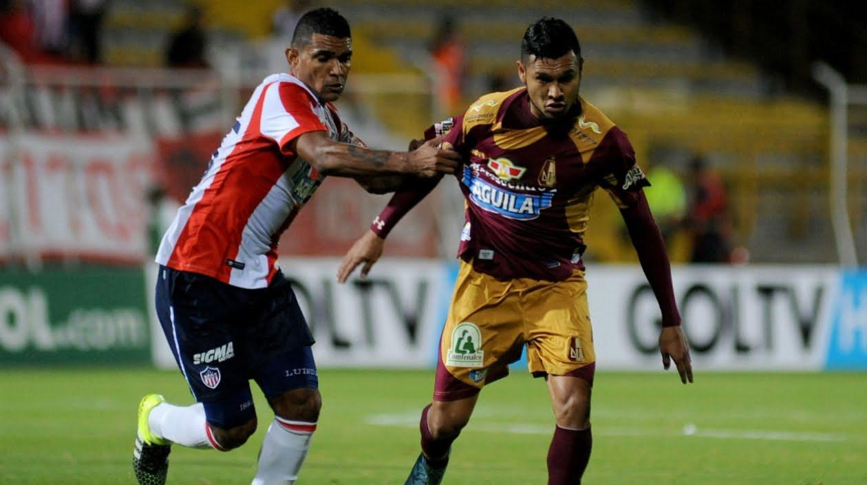 Deportes Tolima ,enfrenta a Junior en duelo que abrirá las semifinales de copa Colombia