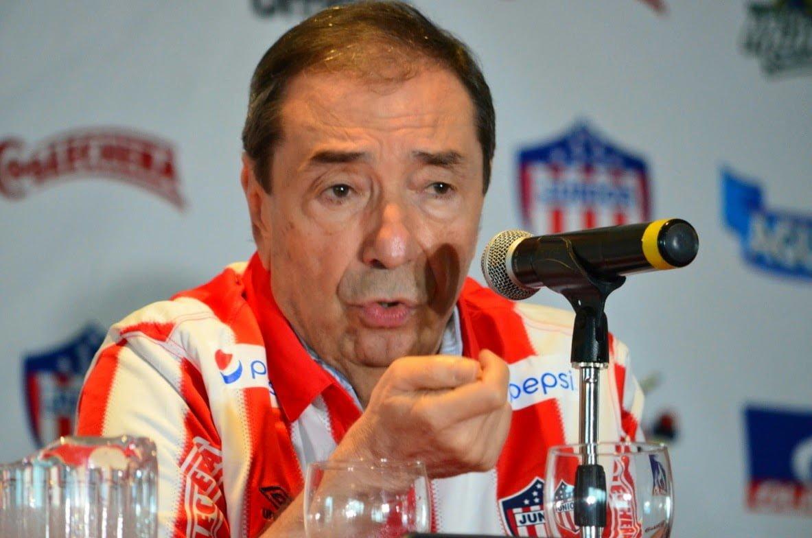 Fuad Char dijo que Giovanni Hernández no irá más con el Junior